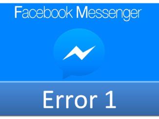lỗi messenger