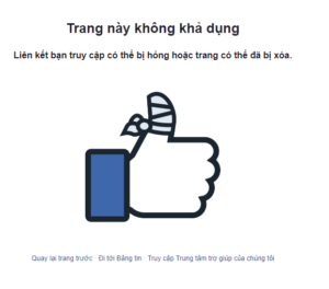 rip nick facebook mạo danh