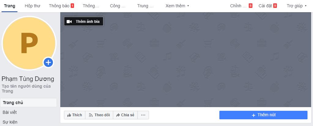 hướng dẫn tạo trang facebook nhanh nhất